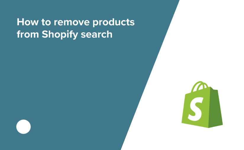 How to hide products from Shopify search